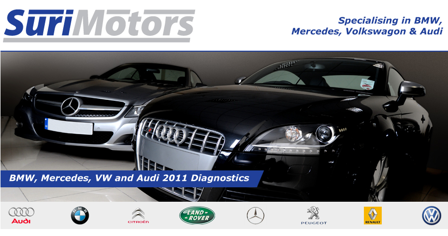 Suri Motors - Specialising in BMW, Mercedes, Volkswagon & Audi